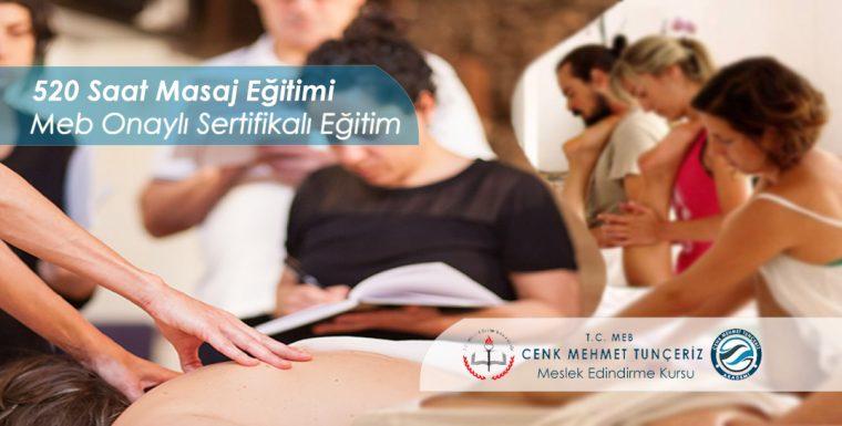 M.E.B. Onaylı 520 Saat Masaj Eğitimi Kursu